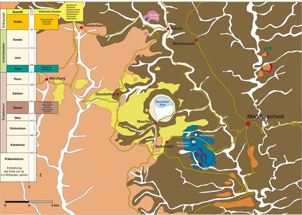 Vulkane Der Erde Karte.Die Geo Geschichte Der Mosenberg Vulkane Vulkanerlebnispark